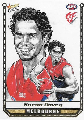 Aaron Davey, Sketch card, 2007 Select AFL Champions