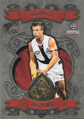 Rhys Palmer, Medallist, 2009 Select AFL Pinnacle