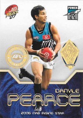 Danyle Pearce, Award Winner, 2007 Select AFL Supreme