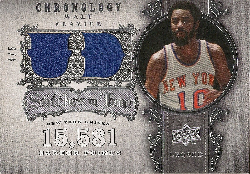 Walt Frazier, Stiches in Time, 2007-08 UD Chronology NBA