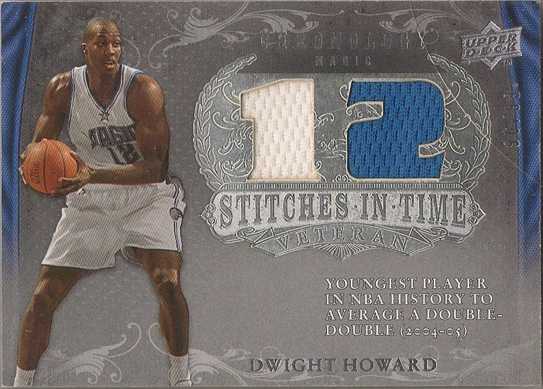 Dwight Howard, Stiches in Time, 2007-08 UD Chronology NBA