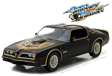 Smokey & The Bandit 1977 Pontiac Firebird Trans Am, 1:18 Diecast Model Car