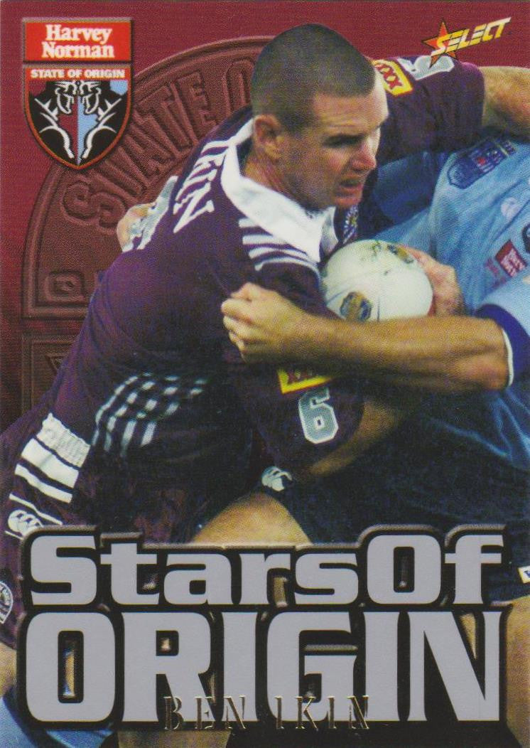 Ben Ikin, Stars of Origin, 2000 Select NRL