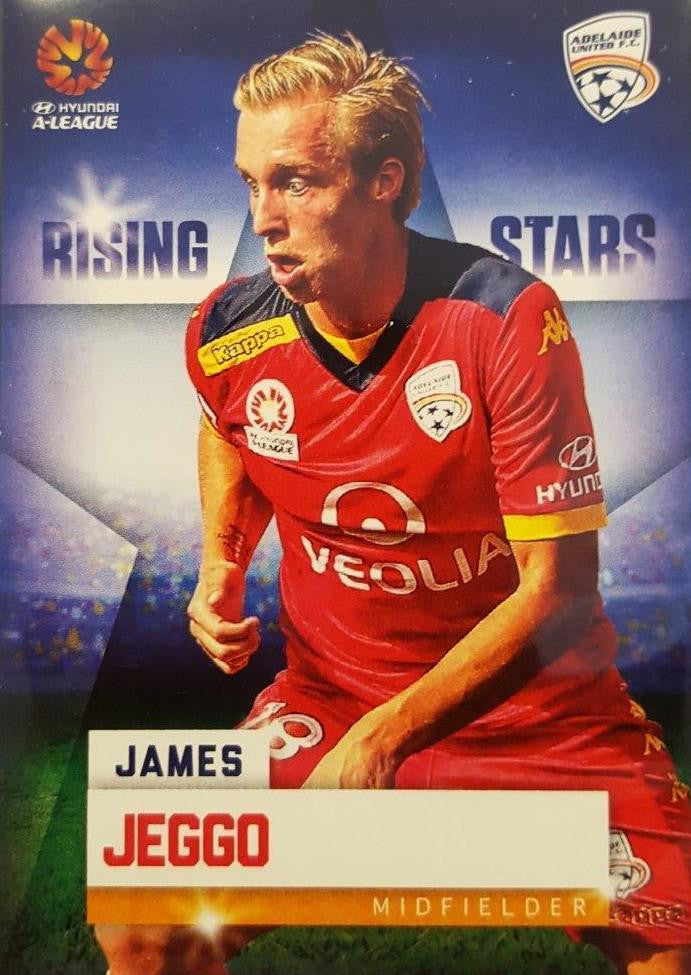 2015-16 Tap'n'play FFA A-League Soccer Rising Stars, James Jeggo, # RS-03