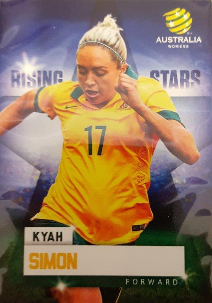 2015-16 Tap'n'play FFA A-League Soccer Rising Stars, Kyah Simon, # RS-02