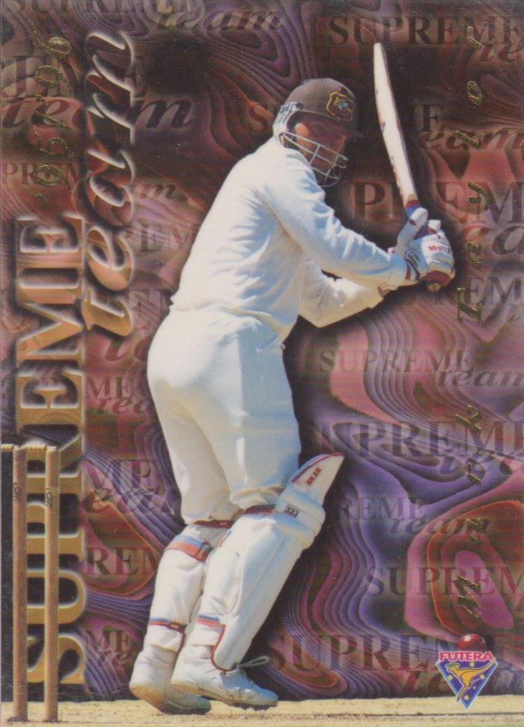 Mark Taylor, Supreme Team, 1995-96 Futera Cricket