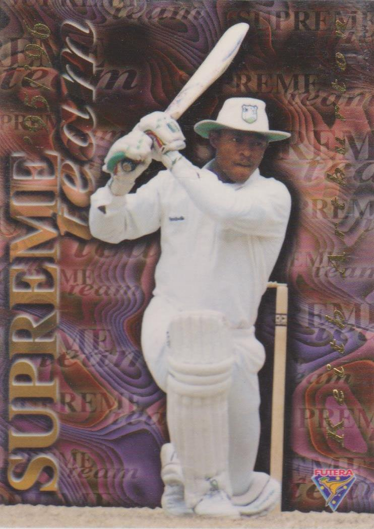 Keith Arthurton, Supreme Team, 1995-96 Futera Cricket