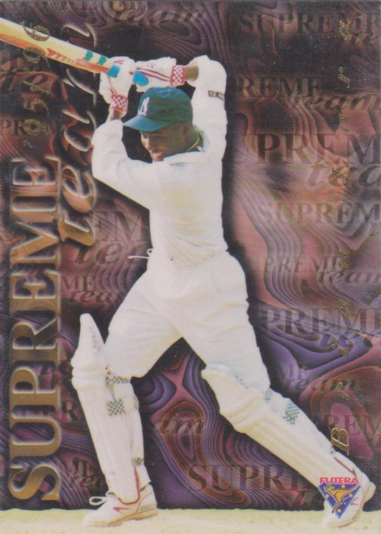 Brian Lara, Supreme Team, 1995-96 Futera Cricket