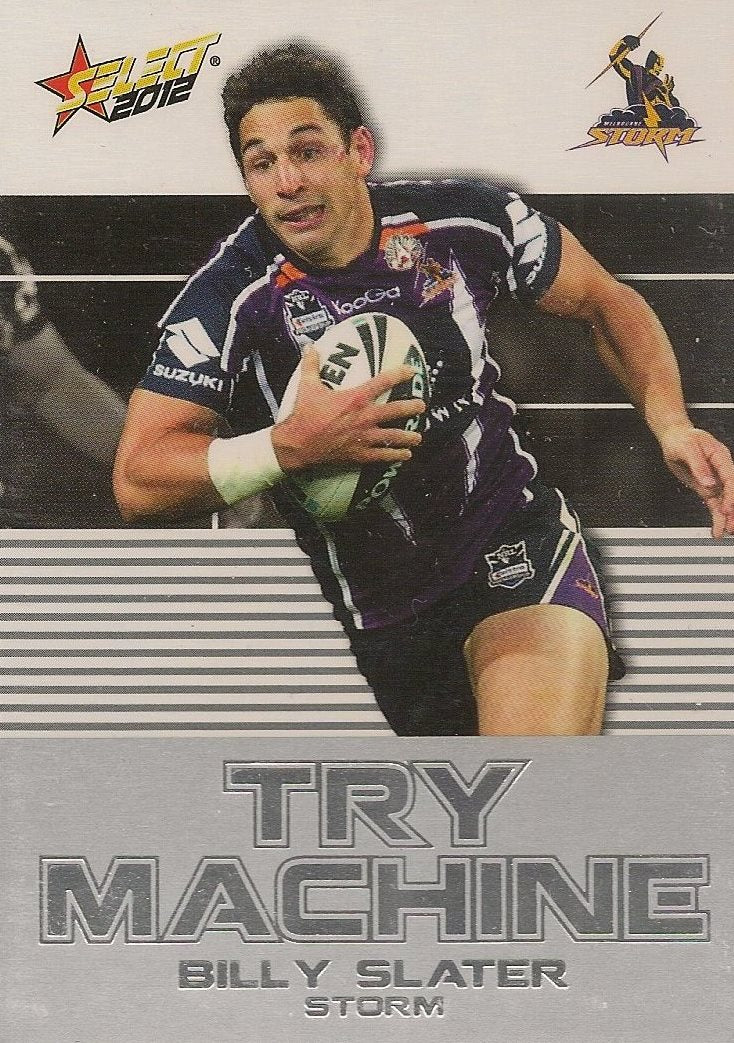 Billy Slater, Try Machine, 2012 Select NRL Champions