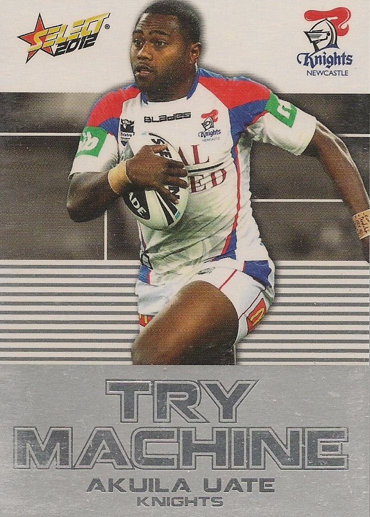 Akuila Uate, Try Machine, 2012 Select NRL Champions