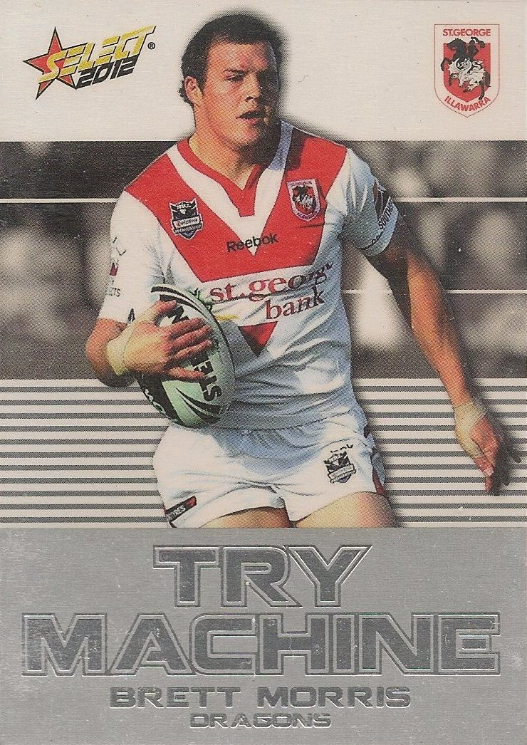 Brett Morris, Try Machine, 2012 Select NRL Champions