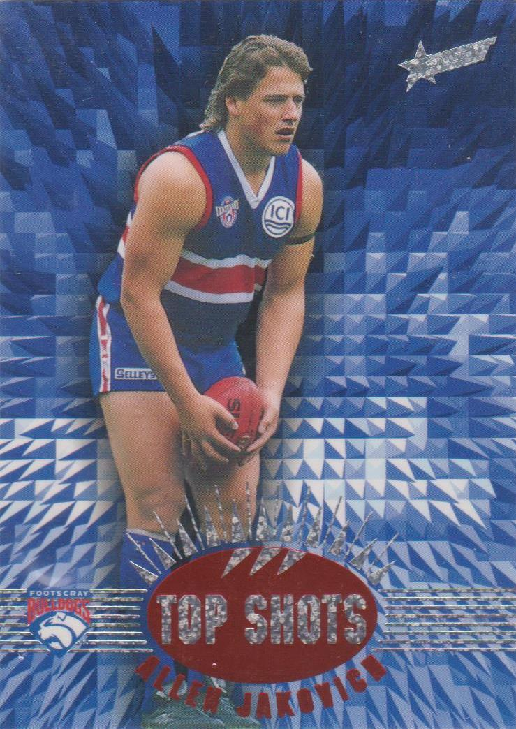 Allen Jakovich, Top Shots, 1996 Select AFL