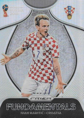 Ivan Rakitic, Fundamentals Silver Refractor, 2018 Panini Prizm World Cup Soccer