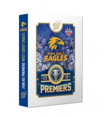 2018 Select AFL West Coast Eagles Premiership card set