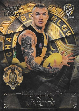 Dustin Martin, Brownlow Medal Winner, 2018 Select AFL Legacy