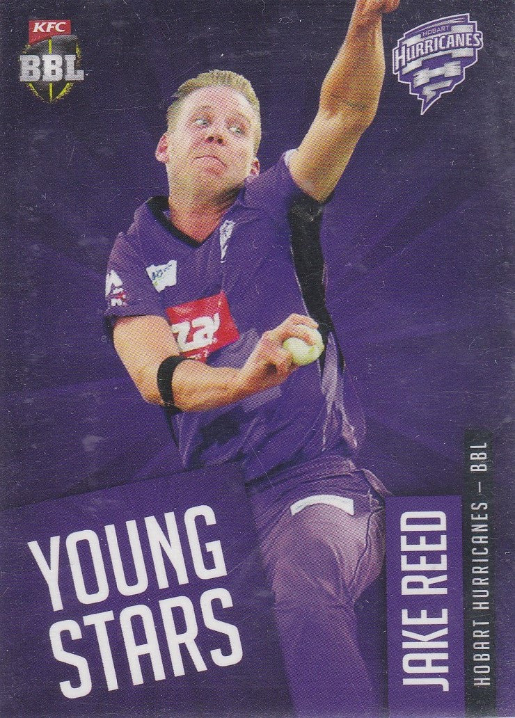2015-16 Tap'n'play CA BBL 05 Cricket, Young Stars, Jake Reed, YS-07