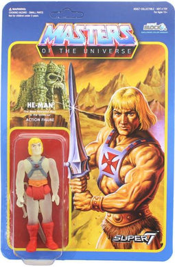 He-Man, Masters of the Universe, Glow in the Dark Action Figure, Super 7.