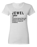 """Definition Of A Jewel Shirt""- White"