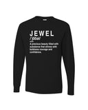 """Jewel Shirt""- Black"