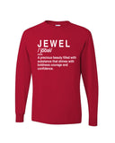 """Jewel Shirt""- Red"