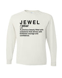 """Jewel Shirt""- White"