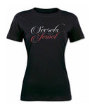 """Secrets Of A Jewel Shirt""- Black"