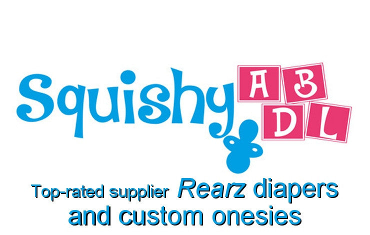 Squishy ABDL. Top-rated supplier Rearz diapers and custom onesies.