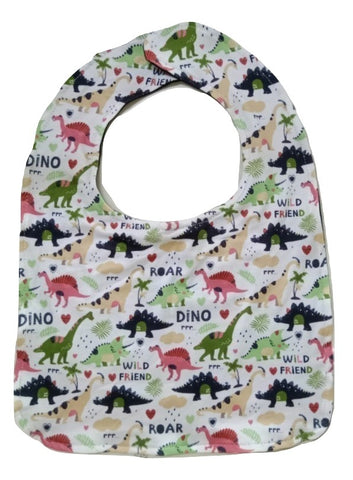 Wild Dino Friends Matching Bib