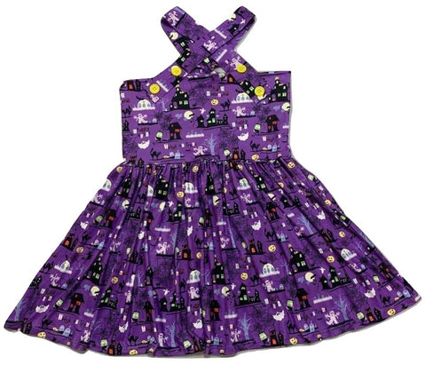 Suspender Halloween Jumper Skirt Dress