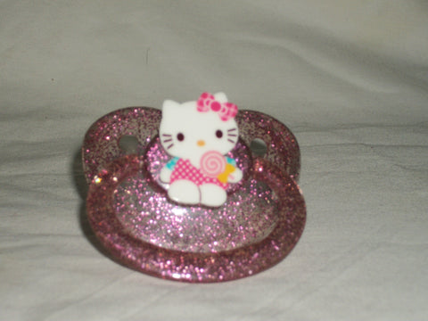 Kitty Pacifier White CP955 CANDY KITTY