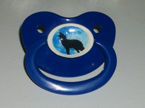 Wolf pacifier CP194 Blue