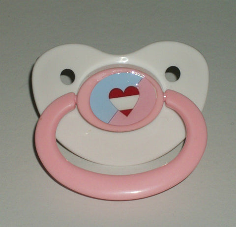 ABDL Heart Lifestyle pacifier CP206