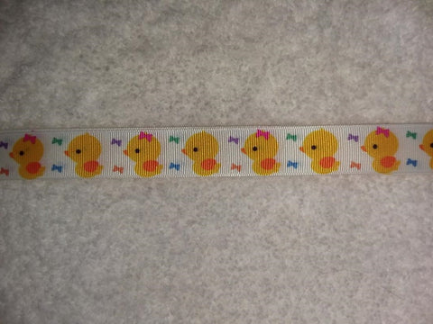 "Duck Hand Crafted Pacifier Dummy Clip - 10""-12"""