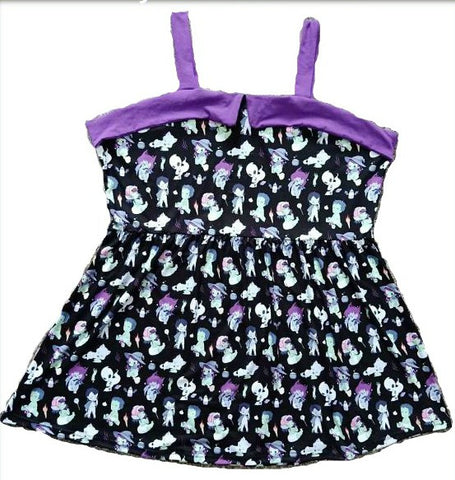 Dress Discontinued Tiny Terrors Black Dress Clearance
