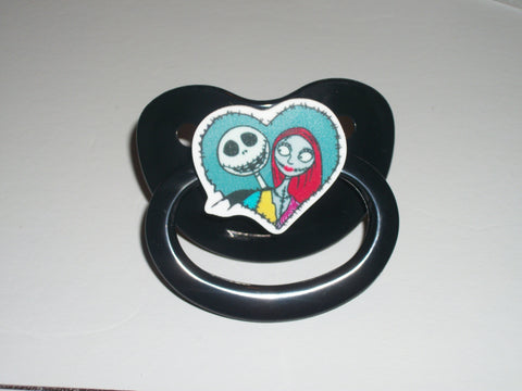 Skull Movie Pacifier JACK  CP1117 HEART