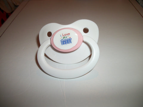Daddy I LOVE MY DADDY Lifestyle pacifier CP611