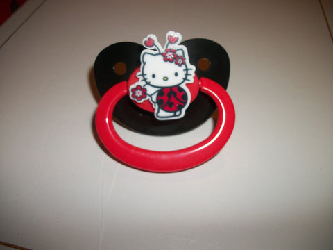 Kitty Pacifier White HK cp1120 lady bug
