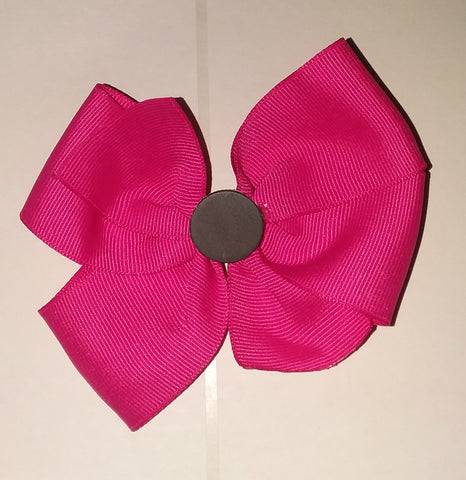 Fire Truck Boutique Hair  Bow HB356