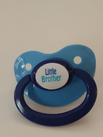 Little Brother Big Brother pacifiers