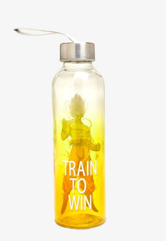 Discontinued Dragon Ball Z 17 5oz Glass Baby Bottle With
