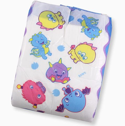 1 REARZ Lil' Monsters ABDL Adult Diaper