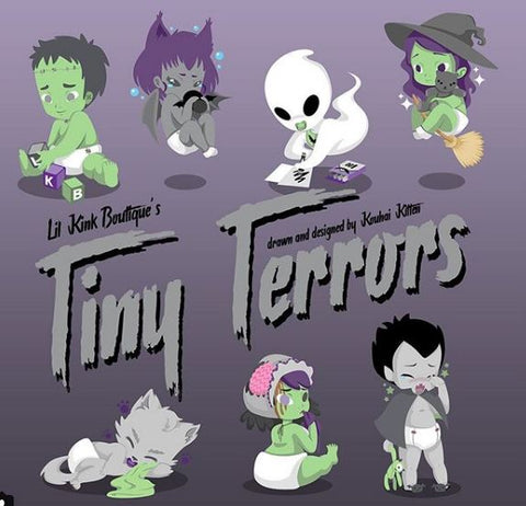 COMING SOON TO LKB * Tiny Terrors Large Diaper Bags