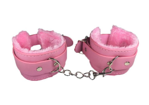 Handcuffs Cuffs Fetish Restraint Harness Bondage Plush