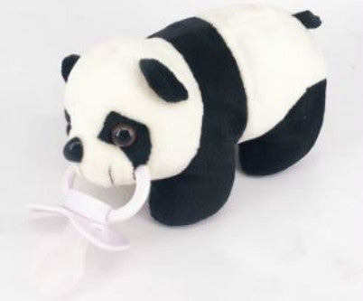 Panda Bear 1Pcs XLarge Stuffy Soother Pacifier Clip SPC244 XL binkie buddies