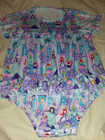 Pretty Princess Adult Romper