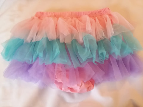 Bloomer Pastel TuTu ADULT Ruffle Cotton Diaper Cover Bloomers