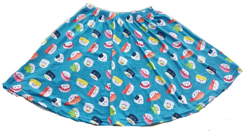 DISCONTINUED Lil Sushi Baby Skaters Skirt Clearance xs - s only