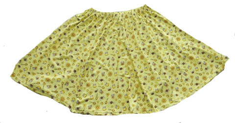 DISCONTINUED Sweet Lil Bee Skaters Skirt CLEARANCE xs only