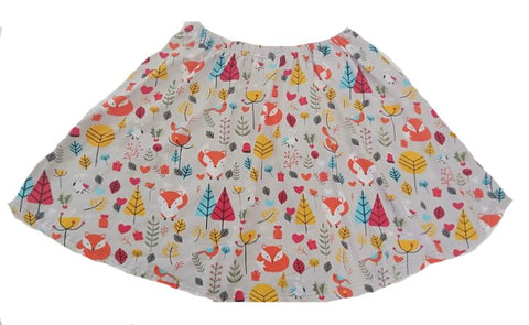 Skirt DISCONTINUED Woodland Fox Skaters Skirt clearance
