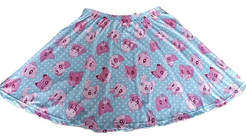 DISCONTINUED Lil Critters Skirt DESIGNED BY KEROKEROKOUHAI Clearance